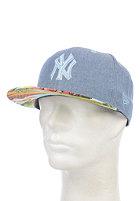 NEW ERA Island Visor New York Yankees Snapback Cap blue sky