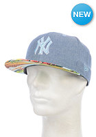 NEW ERA Island Visor New York Yankees Snapback Cap blue sky