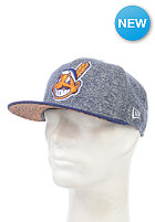 NEW ERA Jersey Pad Cleveland Indians Fitted Cap dry orange
