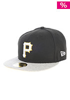 Jerteam Pittsburgh Pirates Fitted Cap graphite