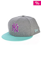 NEW ERA Jertop Pop New York Yankees Snapback Cap grey/black