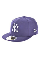 NEW ERA Kids 59 Fifty MLB League Basic New York Yankees Fitted Cap purple/white