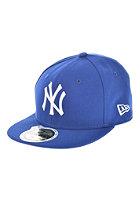 NEW ERA Kids 59 Fifty MLB League Basic New York Yankees Fitted Cap royal/white