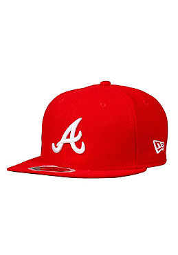 NEW ERA KIDS/ Atlanta Braves K League Basic MLB Cap scarlet/white