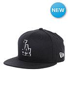 NEW ERA Kids Basic LA Dodgers Fitted Cap black/white