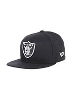 NEW ERA Kids Basic Oakland Raiders Fitted Cap black/white