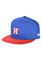 NEW ERA Kids Cotton Block 5 Houston Astros Snapback Cap blue royal/scarlet