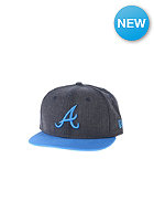 NEW ERA Kids JR Heather Pop Atlanta Braves Cap heather navy/song bird blue