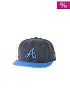 NEW ERA Kids JR Heather Pop Atlanta Braves heather navy/song bird blue