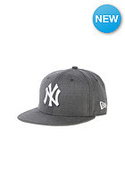 NEW ERA Kids JR League Basic NY Yankees Snapback Cap heather graphite