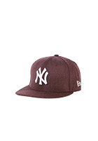 NEW ERA Kids JR League Basic NY Yankees Snapback Cap heather maroon