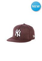 NEW ERA Kids JR League Basic NY Yankees Snapback Cap heather maroon
