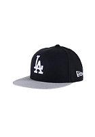NEW ERA Kids Pop Heather 95 Los Angeles Dodgers black/heather grey
