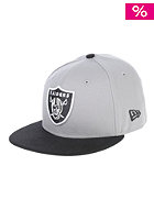 NEW ERA Kids TM Cotton Oakland Raiders Fitted Cap graphite