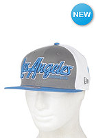 NEW ERA LA Dodgers Back Block Snapback Cap stgra/ssblu