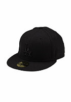NEW ERA LA Dodgers Fitted Cap black/black