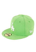 NEW ERA LA Dodgers League Basic Cap lime/white