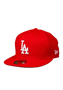 NEW ERA LA Dodgers MLB Basic Cap scarlet/white