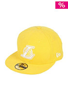 NEW ERA LA Lakers Leag Basic Cap yellow/white