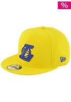 NEW ERA LA Lakers Logo Cap yellow/bright royal