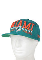 NEW ERA Lateral Miami Dolphins Snapback Cap team