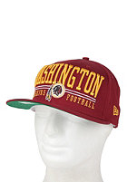 NEW ERA Lateral Washington Redskins Snapback Cap red