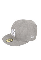 NEW ERA League Basic MLB NY Yankees Cap heather grey
