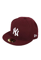 NEW ERA League Basic MLB NY Yankees Cap maroon