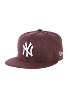 NEW ERA League Basic New York Yankees Snapback Cap heather maroon
