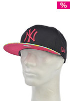 NEW ERA Leo Fade New York Yankees Snapback Cap black/bright rose