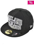 NEW ERA Logo Stack Oakland Raiders Cap team colour