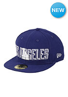 NEW ERA Los Angeles Dodgers Bevel Pitch Fitted Cap team