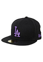 NEW ERA Los Angeles Dodgers Seas Bas Cap blk/v purp