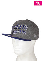 NEW ERA Melton Wave Brooklyn Dodgers Snapback Cap grey/team