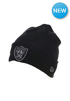 NEW ERA Metallic Knit Oakland Raiders Beanie multicolors