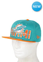 NEW ERA Miami Dolphins NFL ONF Draft 950 Snapback Cap team