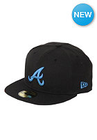 NEW ERA MLB Atlanta Braves Basic Seasonal Cap black/blue