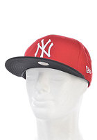 NEW ERA MLB Cotton Block New York Yankees Snapback Cap scarlet/black/white