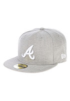 NEW ERA MLB League Basic Atlanta Braves Fitted Cap grey