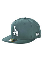 NEW ERA MLB League Basic Los Angeles Dodgers Cap dark green