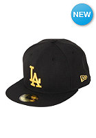 NEW ERA MLB Los Angeles Dodgers Basic Seasonal Cap black/gold