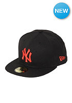 MLB New York Yankees Basic Seasonal Cap black/red