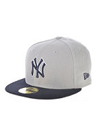 NEW ERA MLB Reverse New York Yankees Team Fitted Cap grey