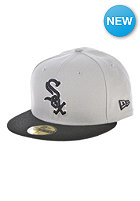 NEW ERA MLB Reverse Team Chicago White Sox Team Fitted Cap grey