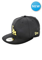 NEW ERA MLB Seas Basic Los Angeles Dodgers Cap black/yellow