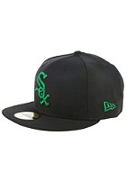NEW ERA MLB Seasonal Basic Chicago White Sox Fitted Cap black/green