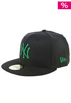 NEW ERA MLB Seasonal Basic New York Yankees Fitted Cap black/green