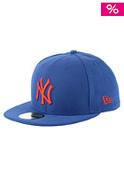 NEW ERA MLB Seasonal Contrast New York Yankees Fitted Cap blue royal/scarlet