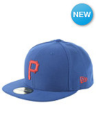 NEW ERA MLB Seasonal Contrast Pittsburgh Pirates Fitted Cap blue royal/scarlet