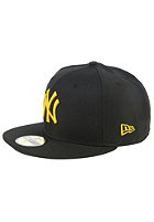 NEW ERA MLB Seasonal New York Yankees Fitted Cap black/yellow